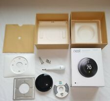 Nest 3rd Generation Learning Black Programmable Thermostat T3016US