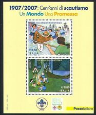 Italy Scouting Postal Stamps