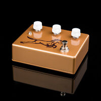 New KLONe Overdrive Guitar Pedal Boutique Professional built Beautiful Kits gold
