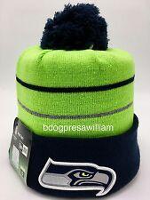 NFL Seattle Seahawks 2014 New Era Thanksgiving Day Knit Beanie Hat