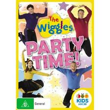 Wiggles The Party Time DVD R4