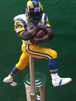 LOS ANGELES RAMS Tap Handle Jerome Bettis Beer Keg NFL St Louis White Jersey