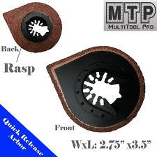 Grout/Rasp Blade Oscillating Multi Tool For Black & Decker Dewalt Ridgid