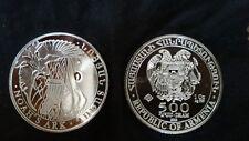 500 Dram  Argent/ silver Republique Armenie /Armenia 1 OZ 2013 Noah's Ark