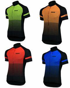 Logic Men's Cycling Jersey Short Sleeve Top Quality Biking Summer Half T Shirt