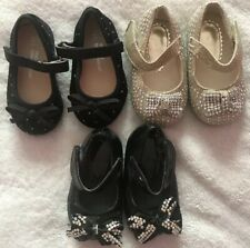 Lovely Bundle Of Baby Girl Shoes Size 1-3