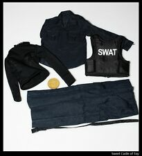 1/6 M.O.E Accessory Batman The Dark Knight S.W.A.T Uniform Set Swat