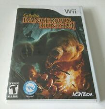 "Cabela's Dangerous Hunts 2011 -- Special Edition (Nintendo Wii, 2010) ""NEW"""