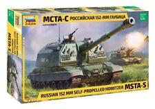 ZVEZDA 1:35 KIT CARRO RUSSIAN 152MM SELF PROPELLED HOWITZER MSTA S  ART 3630