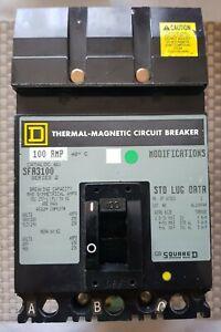 Squrred Thermal Magnetic Circuit Breaker 100 Amp