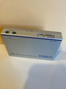 Sony SRS-10 Stereo Active Speaker System Rare Vintage