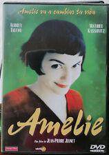 AMELIE - DVD AUDREY TAUTOU - JEAN PIERRE JEUNET