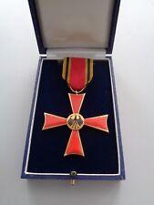 (BRD-3) Bundesverdienstkreuz am Band im Etui - alte Ausfertigung 70er S & L