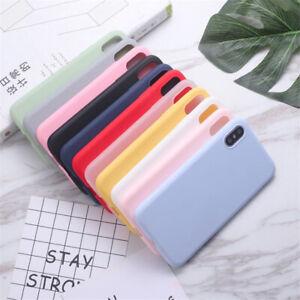 Slim Soft TPU Silicone iPhone 11,11Pro,11Pro Max,X,XS,XR MAX Case Cover