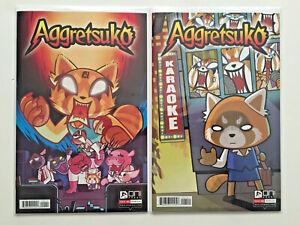 AGGRETSUKO #1 A & B COVERS SET 1ST PRINT ONI PRESS VARIANT SANRIO NETFLIX