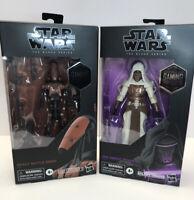 Star Wars The Black Series Jedi Knight Revan + Heavy Battle Droid Gaming Greats