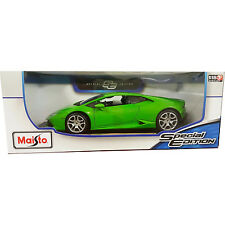 Maisto Lamborghini Huracan LP 610-4 1:18 Diecast Model Car Green