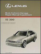 Lexus IS300 Sportcross Unidad Reparación Manual Taller 2001 2002 2003 2004 2005
