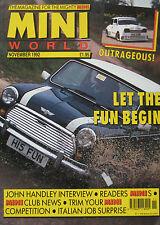 Mini World magazine november 1992