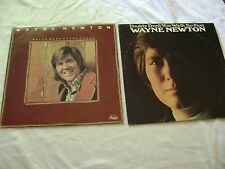 "WAYNE NEWTON, 2 LP'S, ""WHILE WE'RE STILL YOUNG"" & ""DADDY DON'T YOU WALK SO FAST"""
