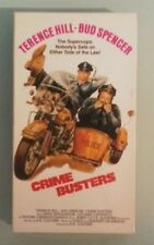 terence hill  CRIME BUSTERS  bud spencer  VHS VIDEOTAPE