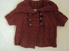 Baby Girls Bronze Short Sleeve Knitwear Age 18-24 months from Next