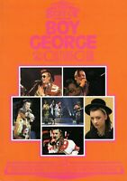 THE BEST OF BOY GEORGE AND CULTURE CLUB BOOK-BOY GEORGE-1984