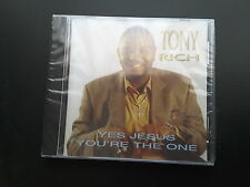 Gospel CD YES JESUS YOU'RE THE ONE by Tony Rich
