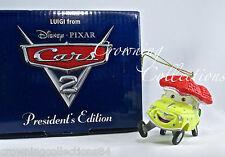 Grolier Luigi President's Edition Ornament Disney Pixar Cars 2 Scholastic RARE