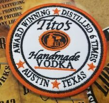Tito's Vodka patch
