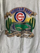 VTG  Cubs Spring Training Cactus League Meza Arizona 1998 TShirt Mens XXL