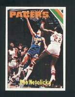 1975-76 Topps #314 Bob Netolicky NM/NM+ Pacers 120118