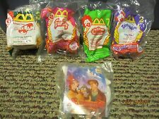 MISC MCDONALD'S HAPPY MEAL TOYS-FURBY, SPACE JAM, TELETUBBIES  (LOT OF 5)