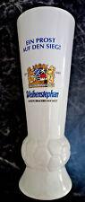 Bierkrug 25 cm Bier Brauerei Weihenstephan Ein Prost auf den Sieg & Fußball WM