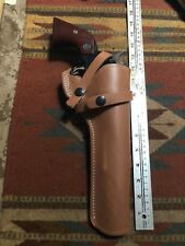"Ruger Super Blackhawk 44magnum Brown Leather Field Holster 7.5"" Barrel"