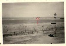 22588/ Originalfoto 6x9cm, Strand von Dünkirchen