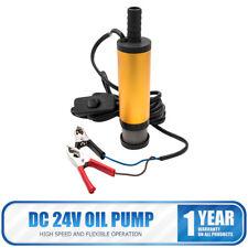 12Volt Liquid Diesel Fuel Pump Submersible Transfer Vessel Water Oil Car Auto DC