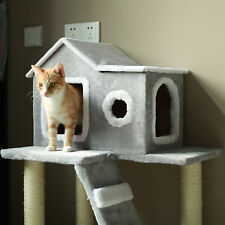 Cat Tree Condo Tower Pet Furniture for Kitty Kitten. Scratch