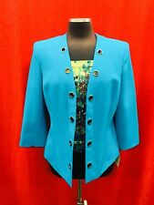 KASPER BLAZER/SIZE 6/LINED/RETAIL WITH TAG/TURQUIOSE