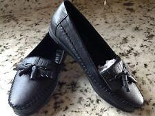 6ba52ed2068 Dr. Scholls Loafer Slip On DoubleAir Insoles Leather Kiltie Tassel Shoe Sz  5M