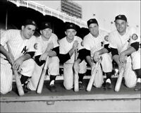 1952 New York Yankees Photo 8X10 Mantle Rookie Berra Bauer Buy Any 2 Get 1 FREE