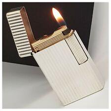 Briquet gaz *S.t Dupont Paris* Silver.P verticales - Lighter-Feuerzeug-Accendino