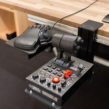 For THRUSTMASTER Hotas X56 VKB Joystick Mouse Keyboard Tray Metal Mount Holder