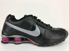 Nike Shox Classic II Womens Running Shoes Size 11 M Black Pink Silver 343907 010
