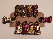 10 Vintage Candle Clips for Christmas tree