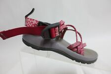 CHACO ZX/1 Grey/Pink Sz 1 Kids Sport Hiking Shoes