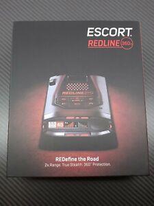 Escort REDLINE 360c Best Radar Laser Detector System GPS WiFi Worldwide Shipping