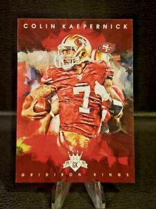 2015 Panini Gridiron Kings 🏈 #86 Colin Kaepernick (49ers) 💎NM/MT💎