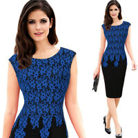 New Women Dress Bodycon Party Cocktail Office Work Business Slim Pencil Dress