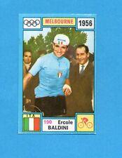 OLYMPIA-1972-PANINI-Figurina DA INCOLLARE! n.190- BALDINI - ITALIA -Rec